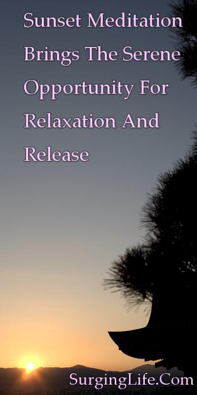 10 Minute Sunset Meditation Video Spiritual Gold Kyoto 4k