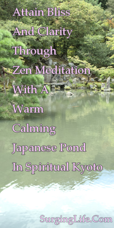 10 Minute Zen Meditation Video Warm Japanese Pond