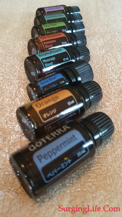 AromaTouch Technique Full Set Of Essential Oils For Treatment