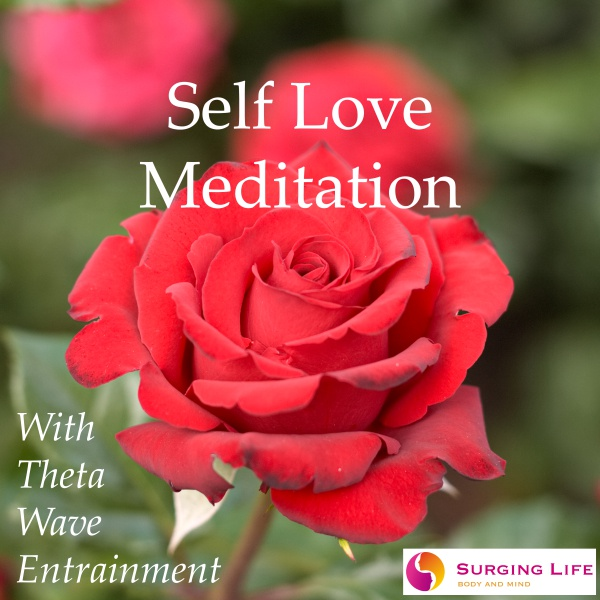 Self Love Meditation Guided By Stephen Frost with Optional Theta Wave Music