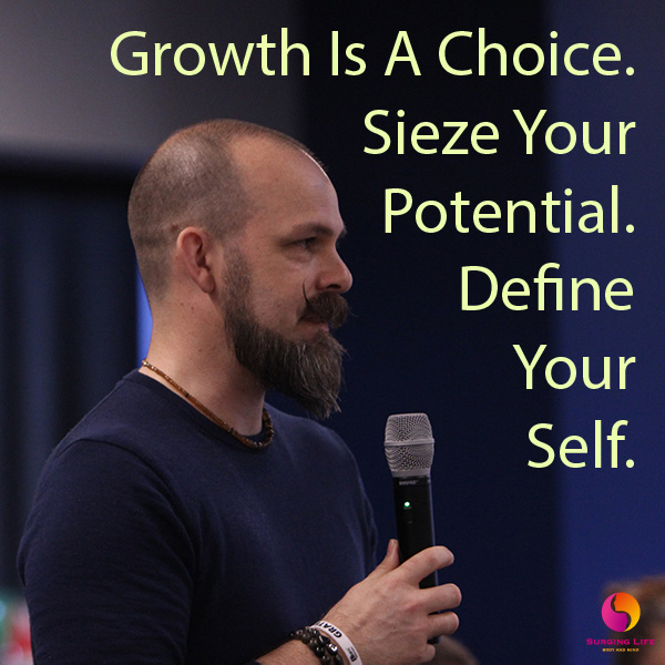 Personal Development And Growth Is A Choice Sieze Your Potential Define Your Self